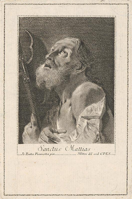 Giovanni Battista Piazzetta, Marco Alvise Pitteri - Sv. Matej