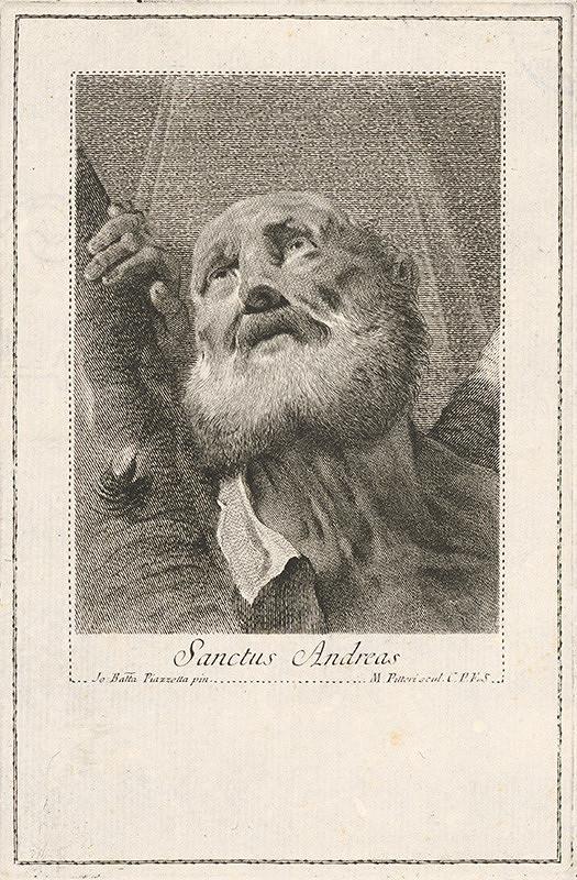 Giovanni Battista Piazzetta, Marco Alvise Pitteri - Sv. Andrej
