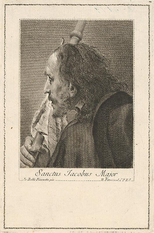 Giovanni Battista Piazzetta, Marco Alvise Pitteri - Svätý Jakub starší