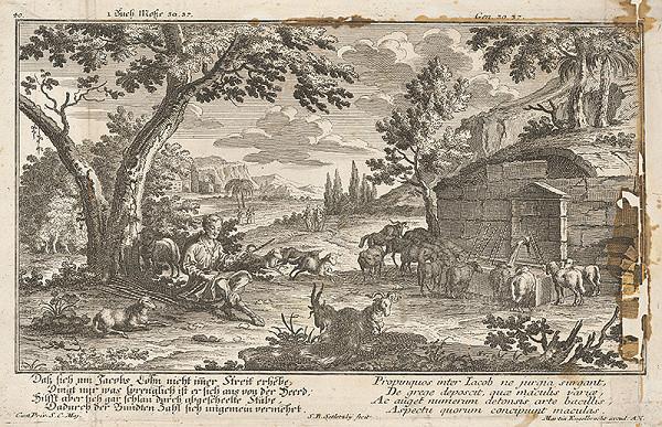 Nemecký grafik zo 17. storočia – Márnotratný syn