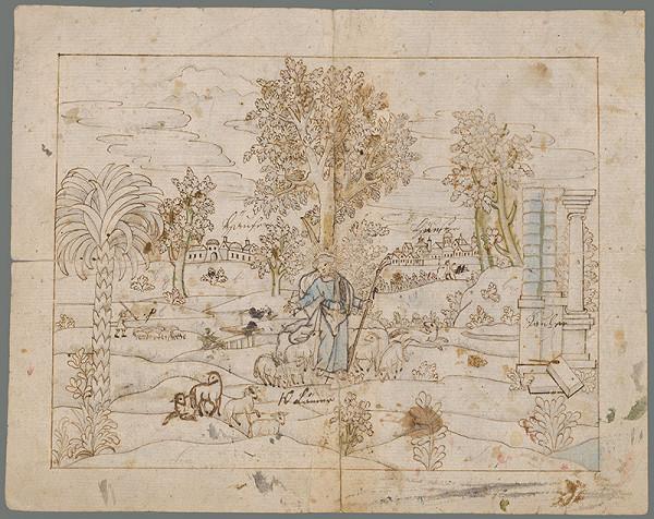 Stredoeurópsky grafik z 18. storočia – Dobrý pastier