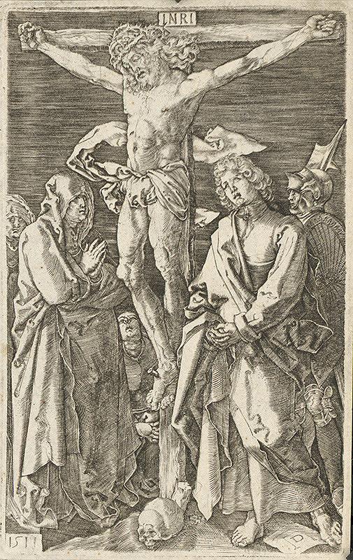 Albrecht Dürer – Ukrižovanie (11)