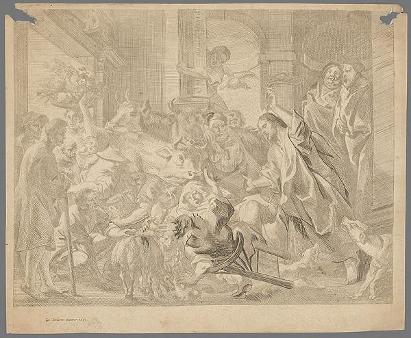 Jacob Jordaens – Kristus vyháňa obchodníkov z chrámu