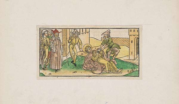 Stredoeurópsky grafik z 15. storočia – Svätý mučeník