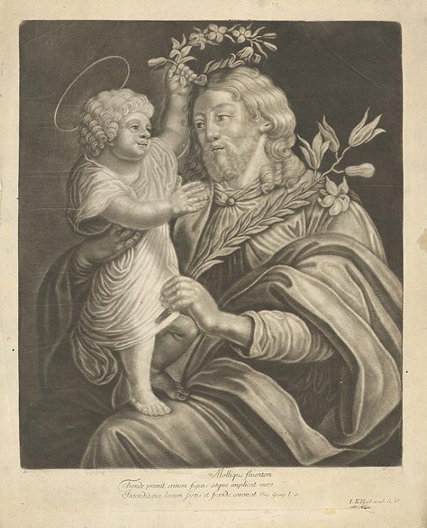 Johann Elias Haid - Svätý Jozef