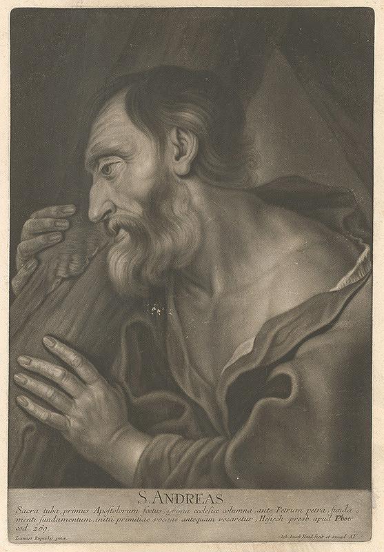 Johann Jacob Haid, Ján Kupecký – Svätý Andrej