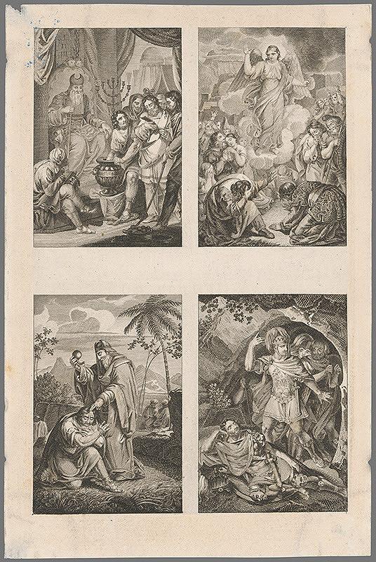 Stredoeurópsky grafik z 19. storočia - Dobrodružstvo rytiera