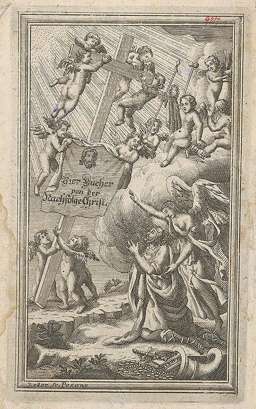 Sebastian Zeller – Zjavenie kríža Kristovi