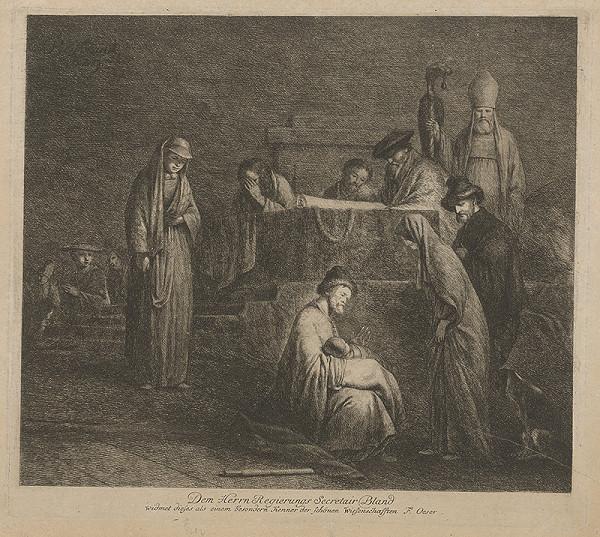Rembrandt van Rijn, Adam Friedrich Oeser, Barent Fabritius – Obetovanie Krista v chráme