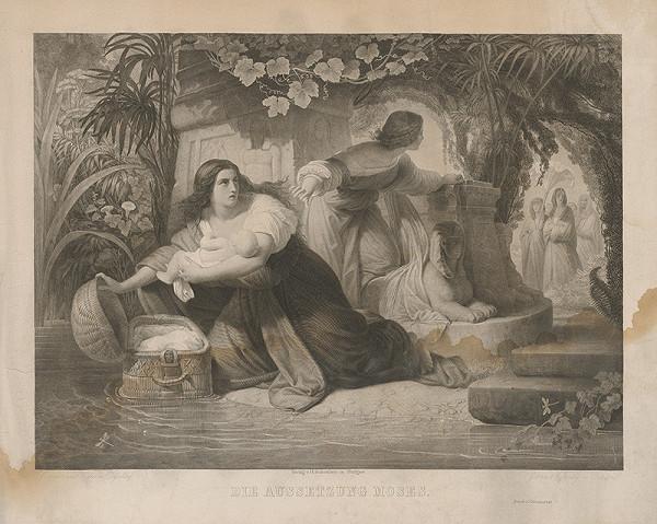 Jakob Felsing, Chr. Kühler - Vylovenie Mojžiša