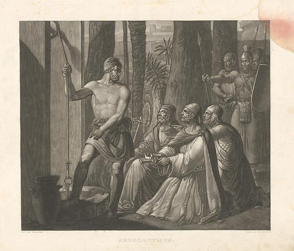 Johann Ulrich Geissler, Joseph Schmutzer – Abdolonymus