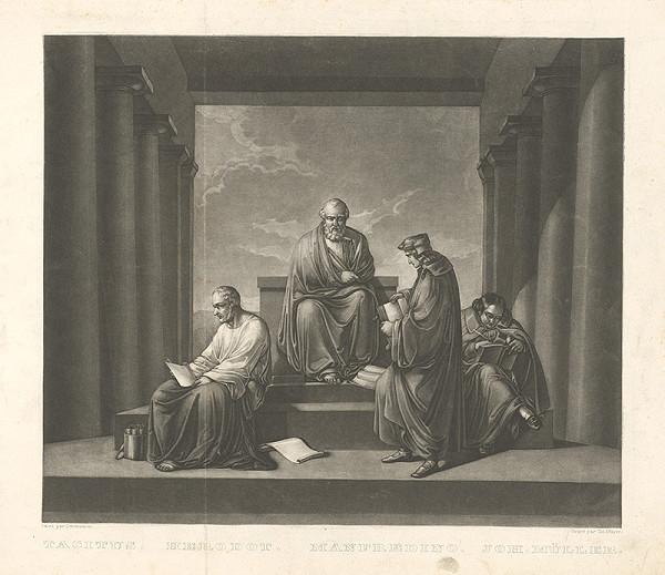 Christian Mayer, Gabriel von Schmutzer – Tacitus, Herodot, Manfredino, Joh. Müller