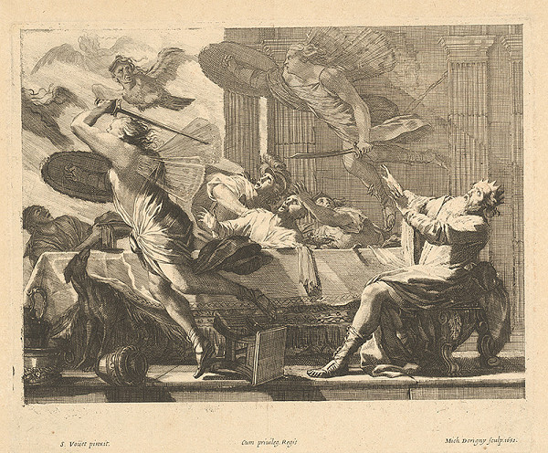 Michel Dorigny, Simon Vouet – Hostina kráľa Phineusa