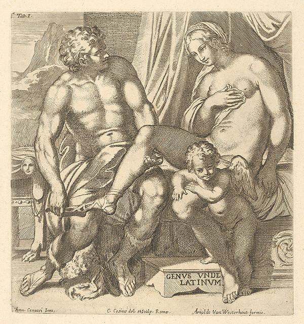 Carlo Cesio, Annibale Carracci, Arnold van Westerhout - Jupiter a Jo  s Amorom