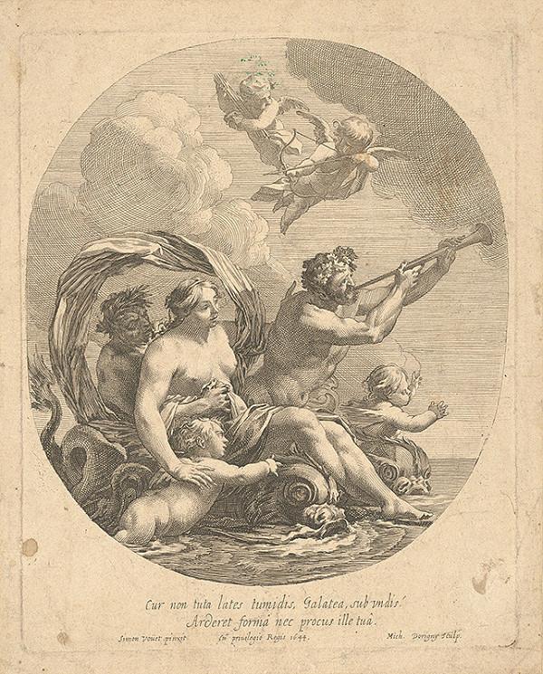 Michel Dorigny, Simon Vouet – Triumf Galathey