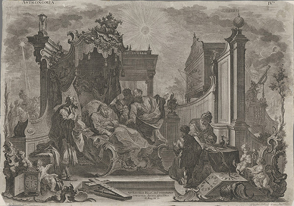 Richard Hartmann, Joseph Anton Klauber - Alegória astronómie