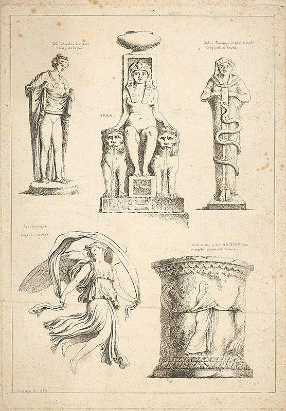 Jean Claude Richard de Saint-Non – Názvy galérií