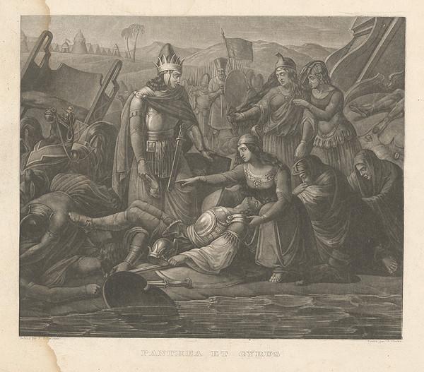 Gabriel von Hackl, Joseph Schmutzer – Panthea a Cyrus