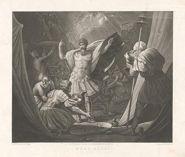 Moritz von Schwind, Anton Ritter von Perger - Marcus Aurelius