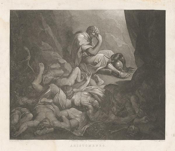 Christian Mayer, Joseph von Führich - Aristomenes