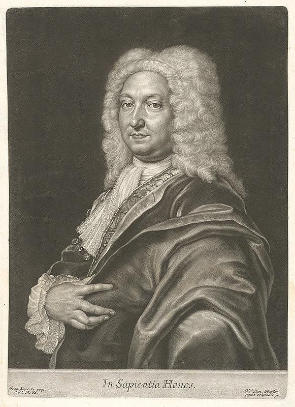 Valentin Daniel Preisler, Ján Kupecký - Portrét šľachtica Holzschubera