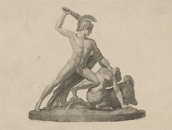 Antonio Canova, János Blaschke – Víťazstvo Thézeusa nad Kentaurom