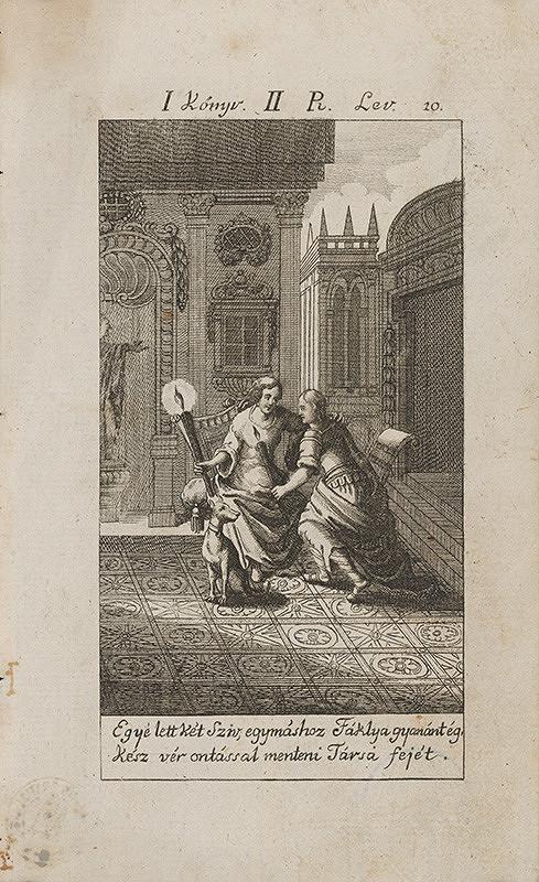 Stredoeurópsky grafik z 18. storočia – Láska
