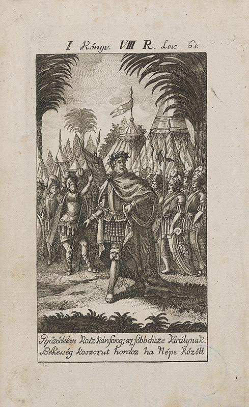 Stredoeurópsky grafik z 18. storočia – Víťazstvo