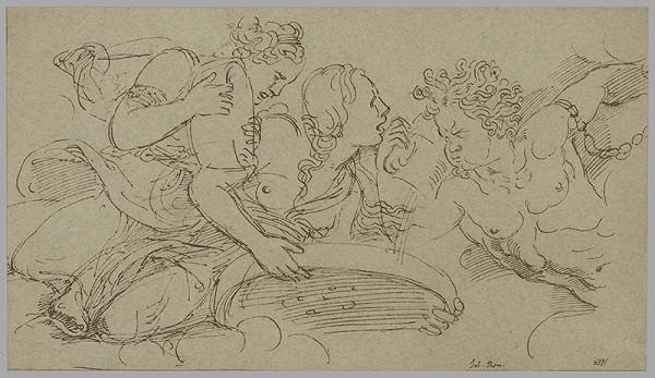 Giulio Romano - Nahnevaný Amor