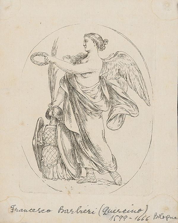 Guercino - Viktória - bohyňa víťazstva
