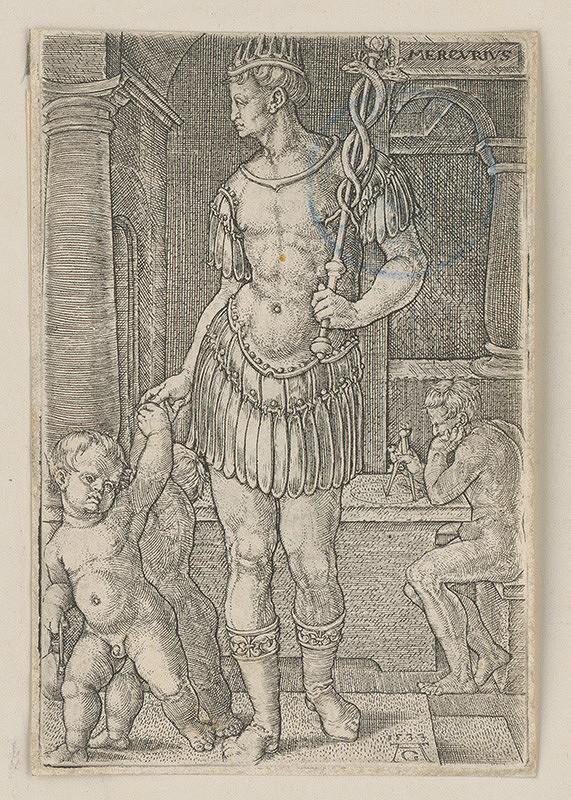 Heinrich Aldegrever – Merkur