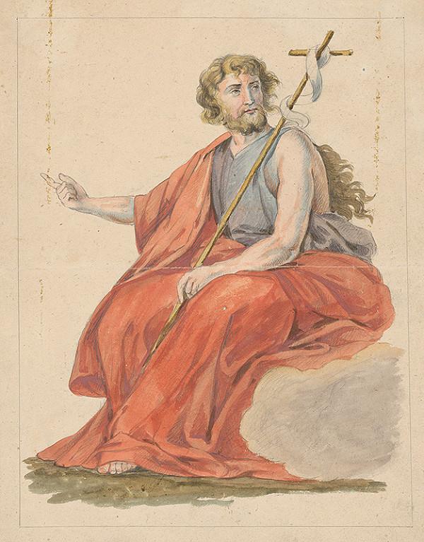 Stredoeurópsky grafik z 18. storočia – Ján Krstiteľ