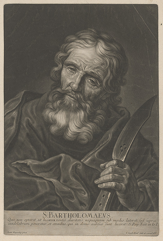 Johann Jacob Haid, Ján Kupecký - Svätý Bartolomej