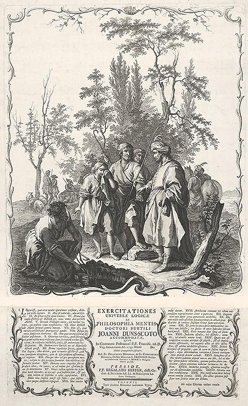 Francesco Bartolozzi, Giuseppe Zocchi, Johan Michal Landerer – Bratia predávajú Jozefa do otroctva egyptským kupcom