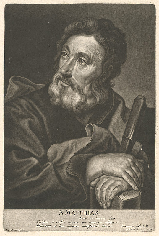 Johann Jacob Haid, Ján Kupecký – Svätý Matej