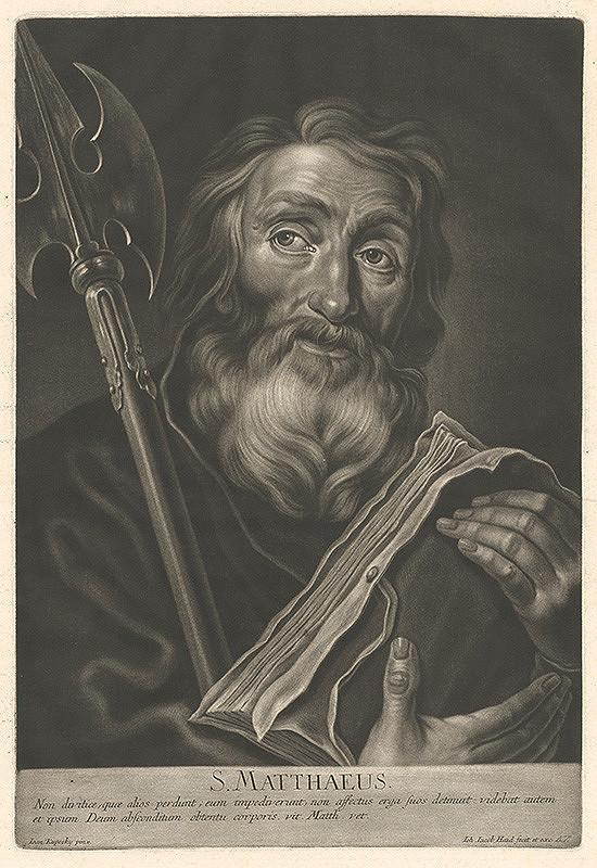 Johann Jacob Haid, Ján Kupecký - Svätý Matúš