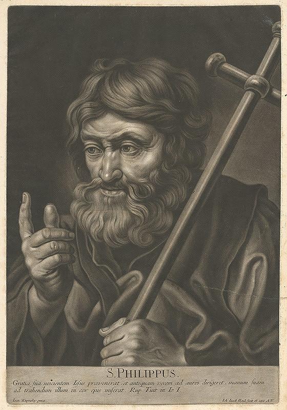 Johann Jacob Haid, Ján Kupecký – Svätý Filip