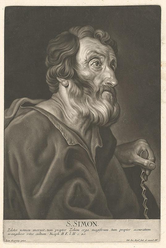 Johann Jacob Haid, Ján Kupecký – Svätý Šimon
