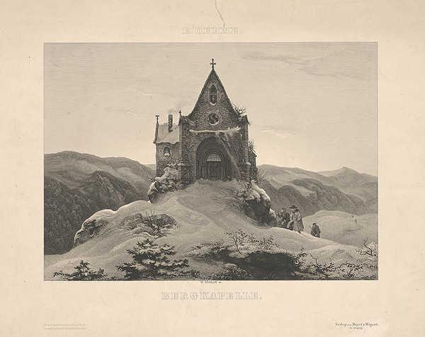 Wilhelm Witthöft – Zimná krajinka