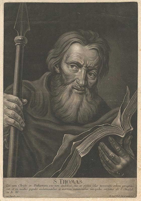 Johann Jacob Haid, Ján Kupecký – Svätý Tomáš