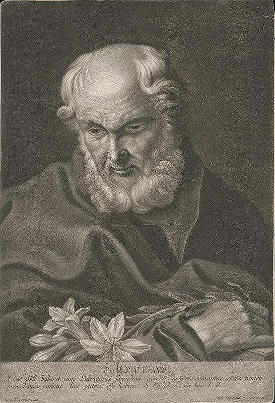 Johann Jacob Haid, Ján Kupecký - Svätý Jozef