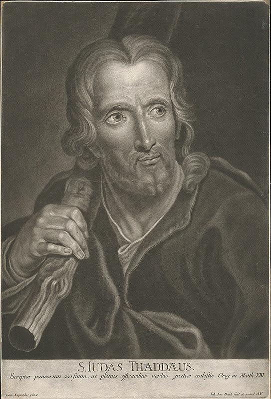 Johann Jacob Haid, Ján Kupecký – Svätý Júda Tadeáš