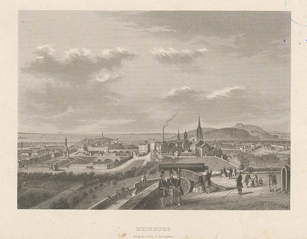 Johann Gray – Pohľad na Edinburg