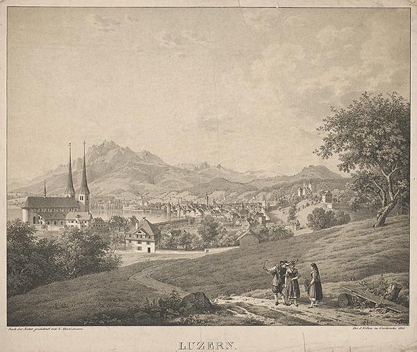 Carl Heitzmann – Mesto Luzern vo Švajčiarsku