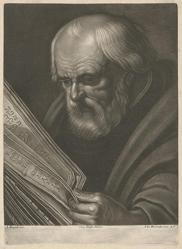 Johann Jacob Haid, Ján Kupecký – Poprsie bradatého starca