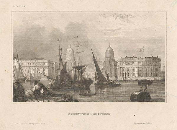Stredoeurópsky maliar z 19. storočia – Greenwichská nemocnica pri mori