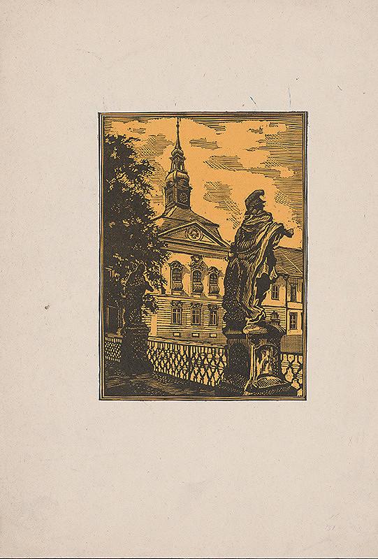 Slovenský maliar zo začiatku 20. storočia – Motív z Brna