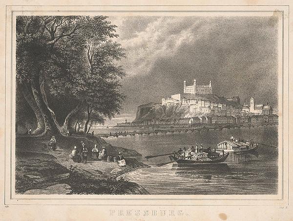Stredoeurópsky grafik zo začiatku 19. storočia – Bratislava