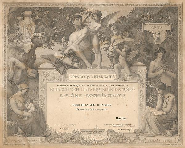 Adrien Didier, Camille Boignard - Diplom výstavy v roku 1990 v Paríži