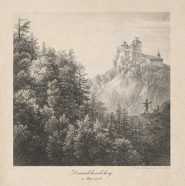 Ignaz Hofer – Hrad Deutschlandsberg